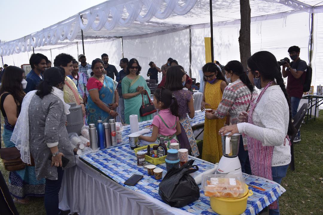 Central University of Punjab organised Food Carnival 'Zaika'