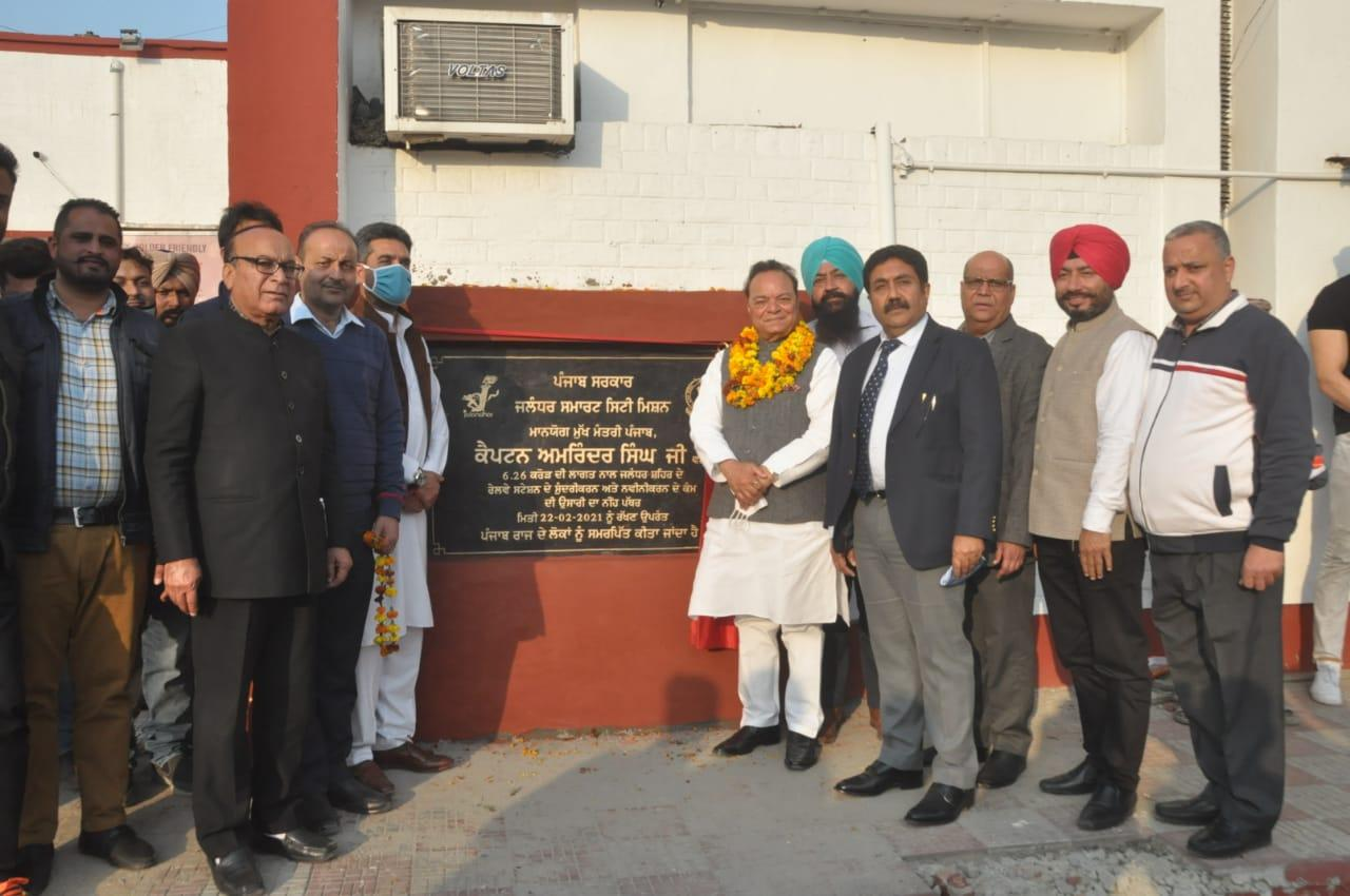 MP, Mayor, MLAs, DC inaugurates mega projects worth Rs. 41.50 Crore under Smart City and Amrut
