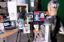 NFT digital artwork by humanoid robot Sophia up for auction
