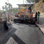 चिन्तपूर्णी ---पक्का टिल्ला सड़क परियोजना का कार्य मई माह में पूरा किया जायेगा