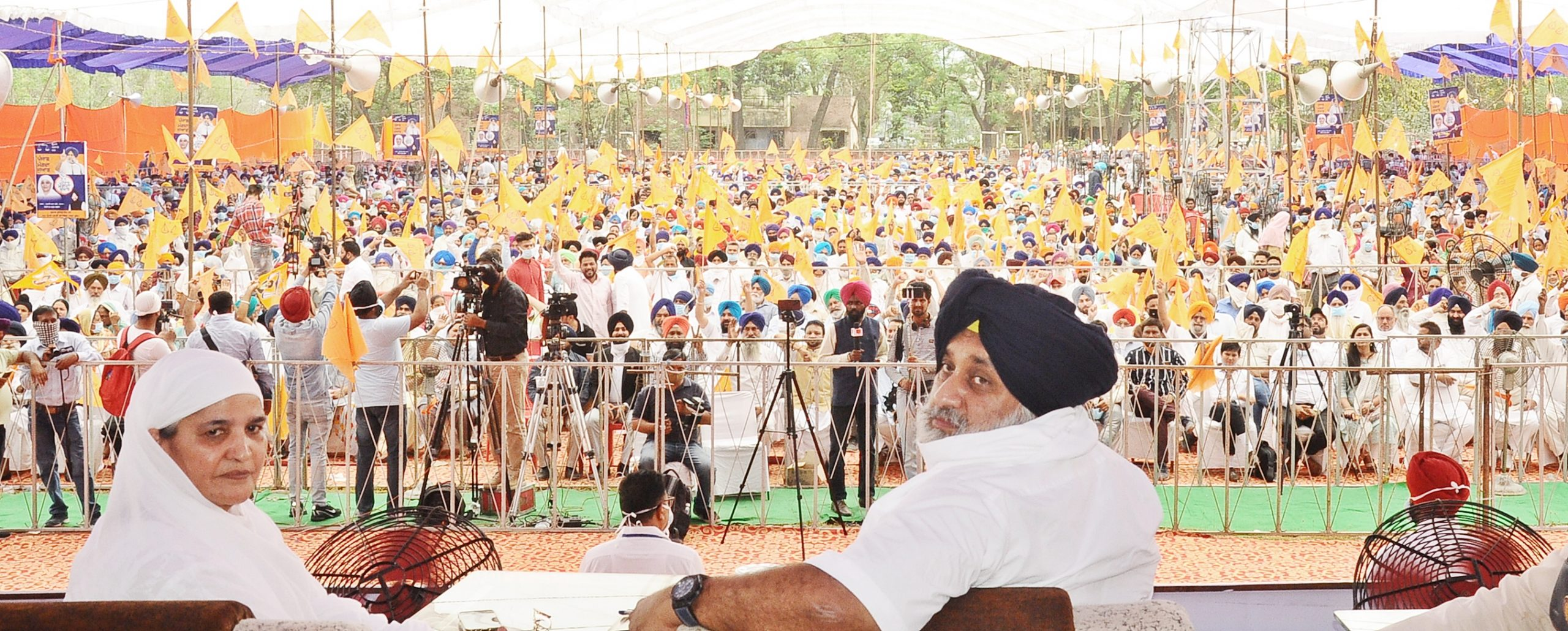 Tell one thing you have done for farmers, youth or weaker sections – Sukhbir Singh Badal asks CM