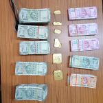 Customs Officers Arrest 1 person and Seize Gold Worth Rs 80,79,378