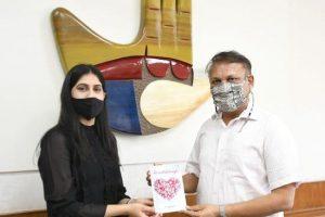 Arun Kumar Gupta Home Secretary, Chandigarh Book 'Heartstrings'