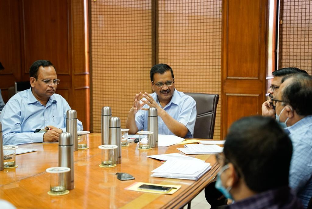 Arvind Kejriwal chairs review meeting on the ambitious Clean Yamuna project