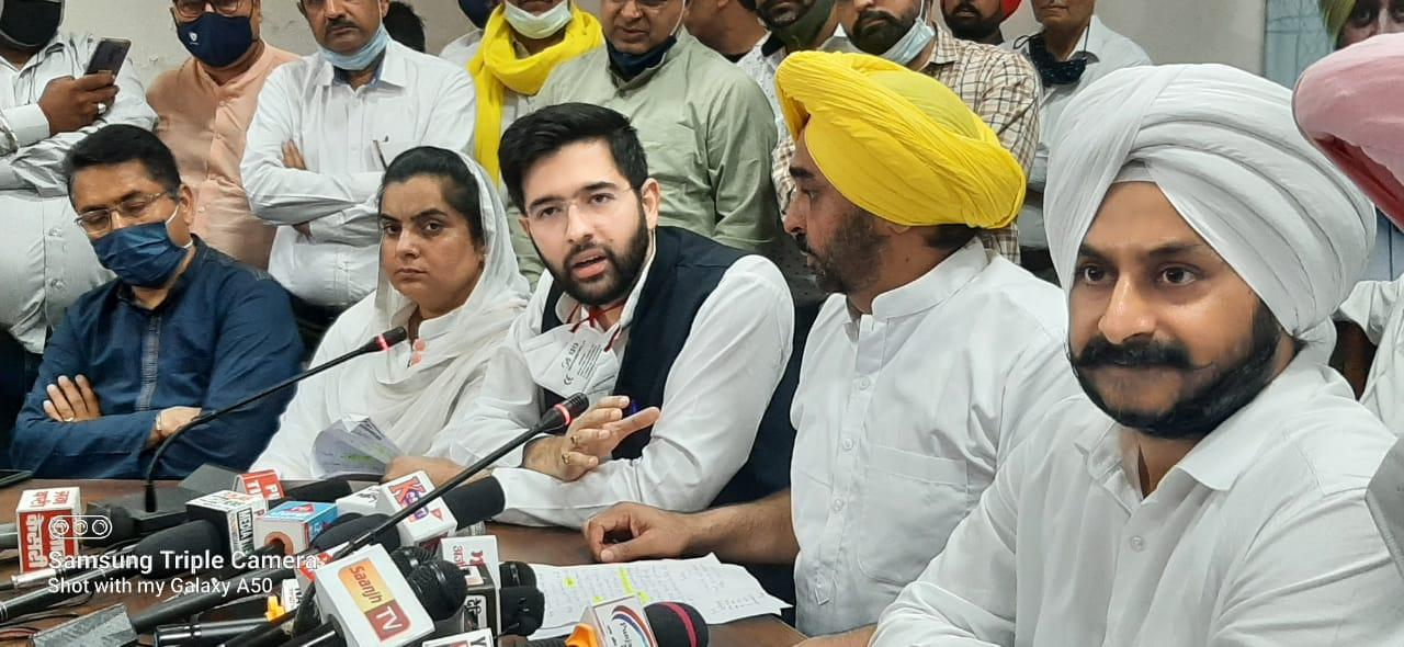 Aam Ami Party decides to launch mass agitation from Apil 7 Bhagwant Mann
