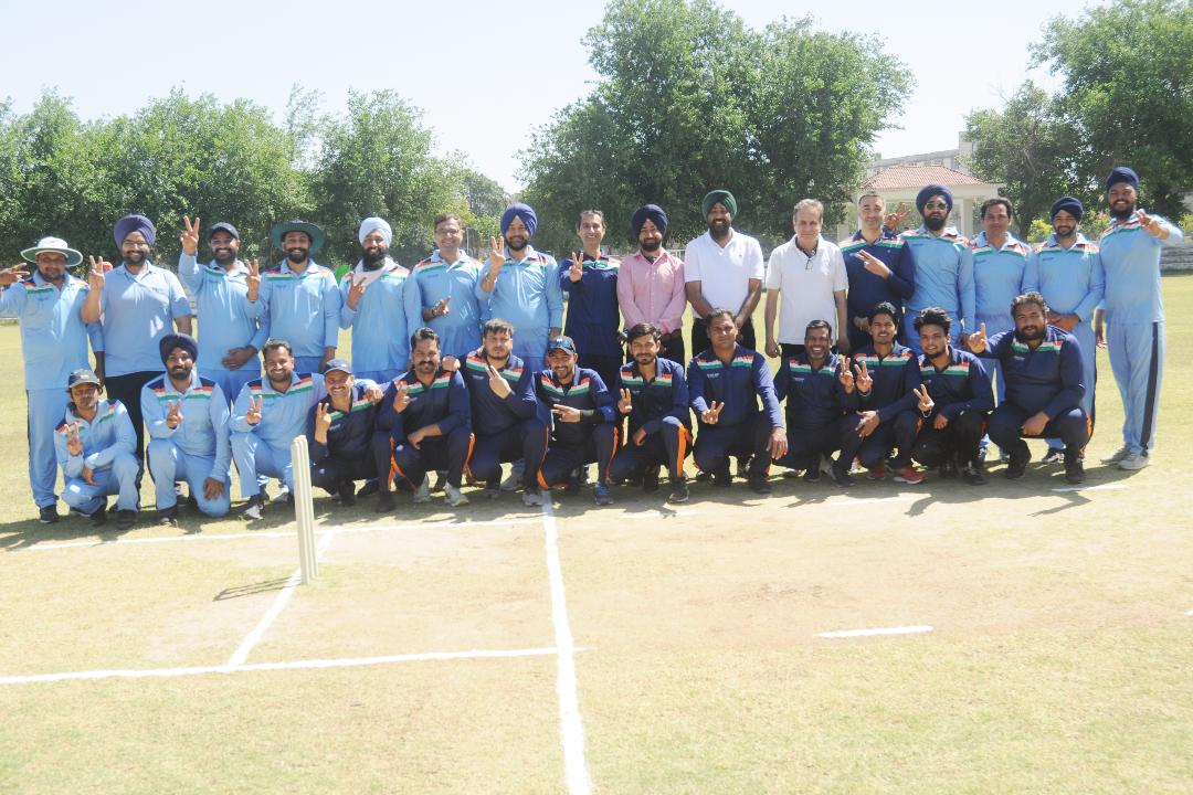 Non-Teaching XI Wins third consecutive Friendly Cricket Match in Lyallpur Khalsa College