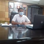 डीसी ने वर्चुअल माध्यम से की प्रेस कांफ्रेंस महामारी अलर्ट सुरक्षित हरियाणा नियमों की सख्ती से पालना होगी जिला मेंं स्वास्थ्य ढांचा लगातार बढ़ाया जा रहा : अजय कुमार नारनौल अस्पताल में पीएसए प्लांट इसी माह मेंं काम शुरू कर देगा इसी माह पूरा हो जाएगा आरटीपीसीआर लैब का काम कोविड-19 के केवल 12 मरीज विभिन्न अस्पताल मेंं भर्ती