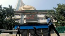 Indian shares end slightly lower as global inflation worries weigh