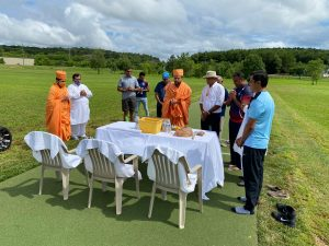 Paramveers Sports Complex for cricket in USA inaugurated
