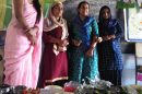 जिला में मनाए जा रहे पोषण माह के तहत बुढ़वाल में व्यंजन प्रतियोगिता का आयोजन