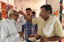 परमात्मा की शरण में जाने से मनुष्य द्वारा जाने अनजाने में किए गए की पाप कर्म कट जाते है:ओम प्रकाश यादव -मंत्री ओमप्रकाश यादव ने नीरपुर स्थित राधा कृष्ण मंदिर में माथा टेक आशीर्वाद लिया।