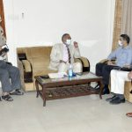 HHRC Chairman hold meeting with district officials