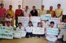 पटीकरा स्कूल में नारा लेखन प्रतियोगिता आयोजित