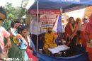 पोषण माह के तहत कार्यक्रम आयोजित कर नलापुर में महिलाओं को किया पोषण के बारे में जागरूक