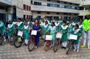 ACA JDA FLAGS OFF CYCLE RALLY TO MAKE PEOPLE AWARE ABOUT THE IMPORTANCE OF RIGHT TO VOTE  APPEALS PEOPLE TO PARTICIPATE ENTHUSIASTICALLY IN THE POLLS