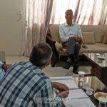 नारनौल महेंद्रगढ़ सड़क निर्माण में देरी पर विधायक ने जताई चिंता अधिकारियों के साथ की बैठक