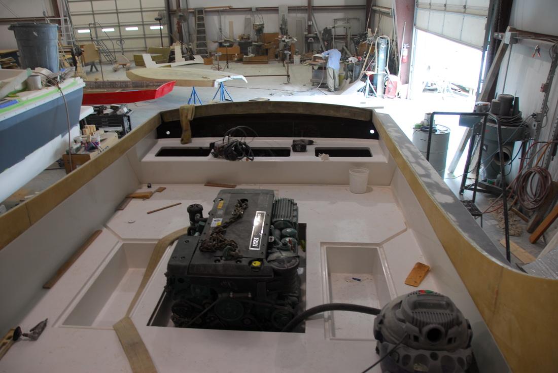 Original Patriot cockpit liner