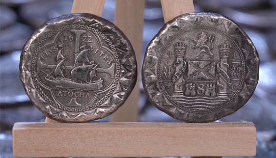 Atocha Shipwreck Silver Cob