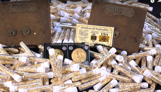 California Wildfire Gold Safe Deposit Box Hoard