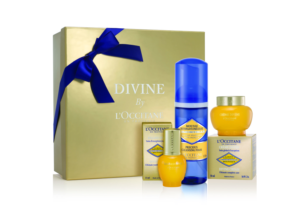 Divine Collection ($182): Reveal youthful skin and a radiant glow with the help of the Immortelle flower from Corsica.