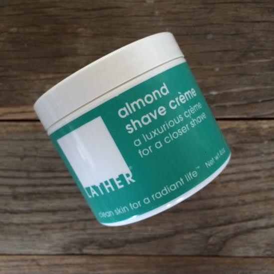 LATHER almond shave creme fathers day gift guide inhautepursuit