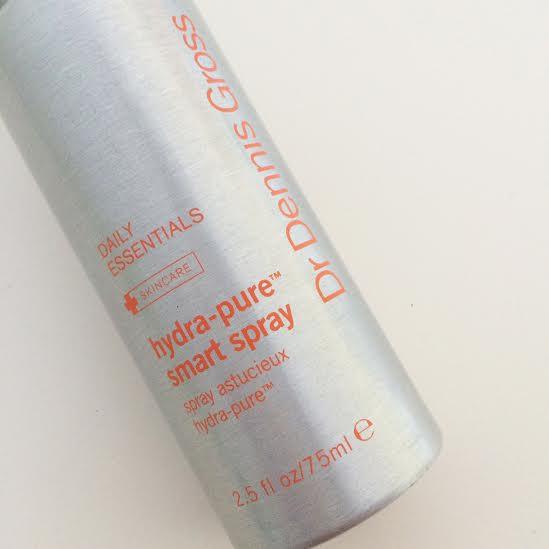 dr dennis gross hydra pure smart spray facial mist review inhautepursuit