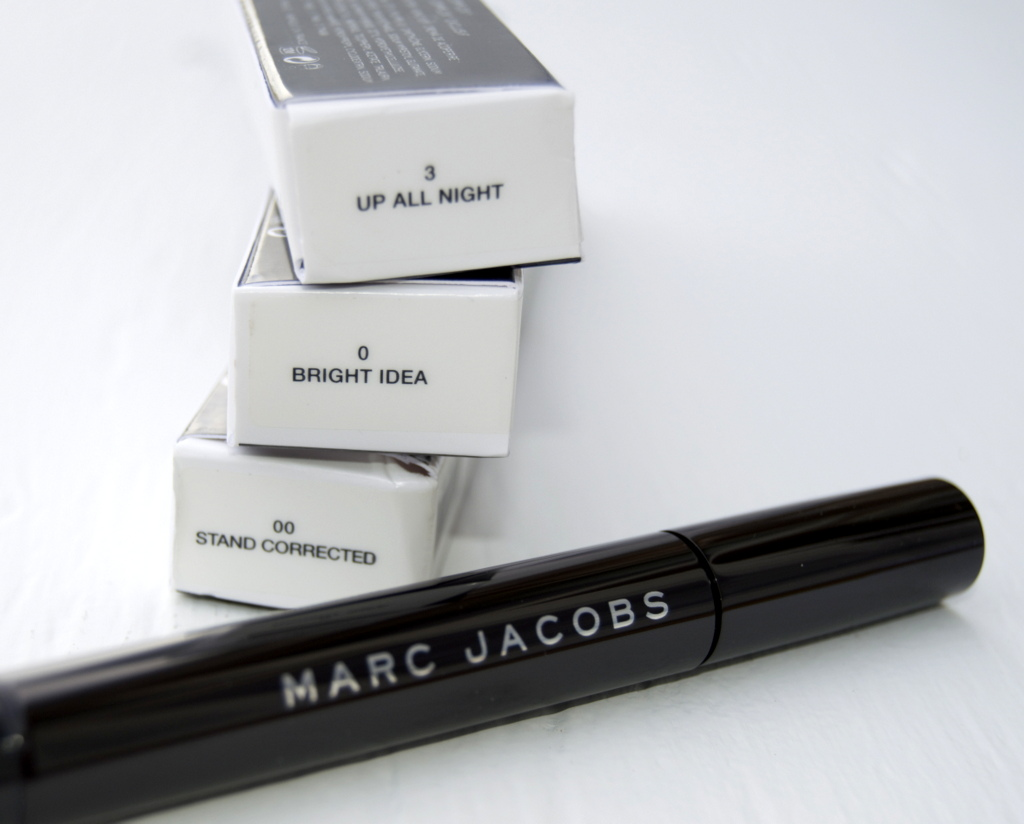 marc jacobs beauty remedy concealer pen up all night bright idea stand corrected review