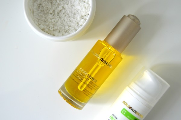 Try Fleuressence after exfoliating before bed.