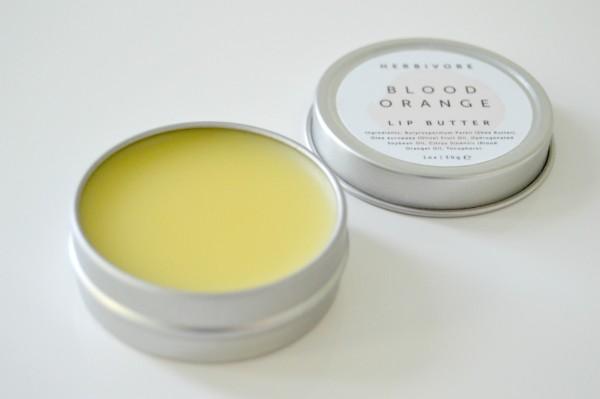 herbivore blood orange lip butter review