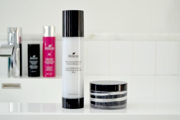 boscia black white charcoal pore pudding makeup setting spray review inhautepursuit