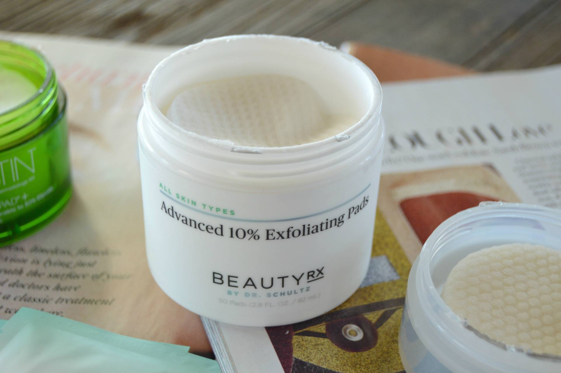 beauty rx schultz dr review advanced 10 glycolic exfoliating pads inhautepursuit