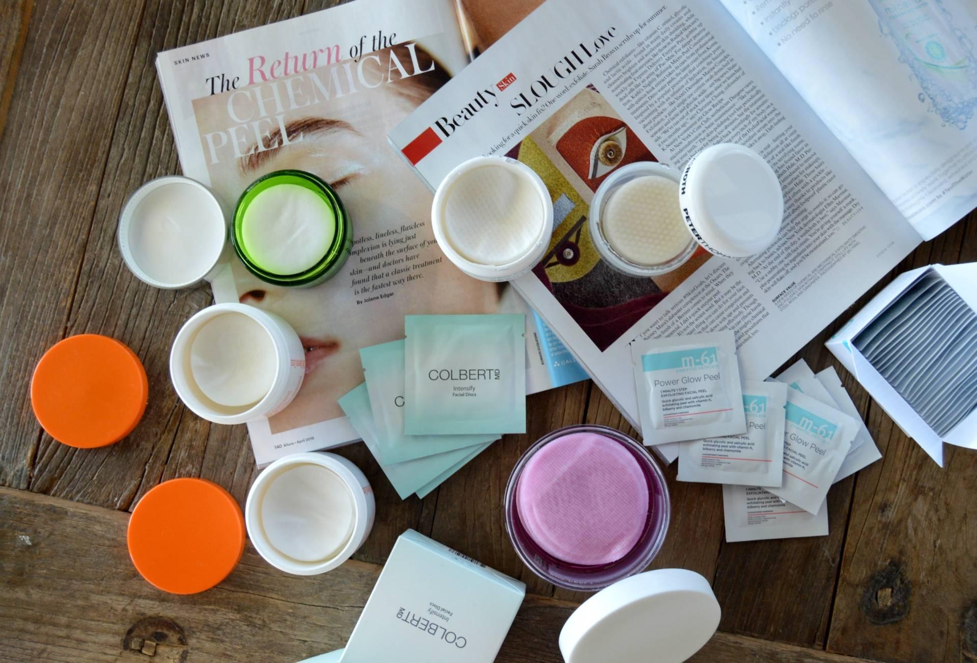 peel pads exfoliate review round up inhautepursuit blogger