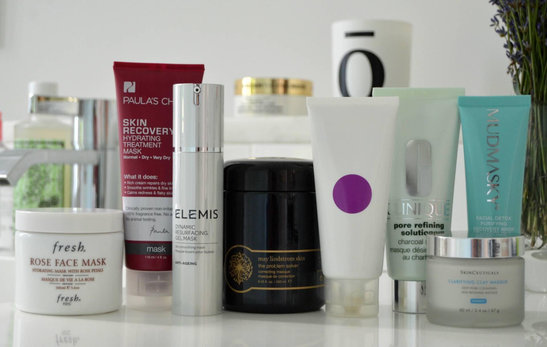 summer face masks oily skin inhautepursuit may lindstrom clinique skinceuticals mudmasky elemis fresh review