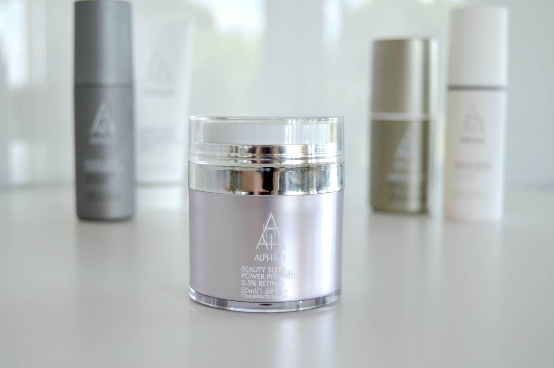 alpha h power peel retinol glycolic beauty sleep review inhautepursuit