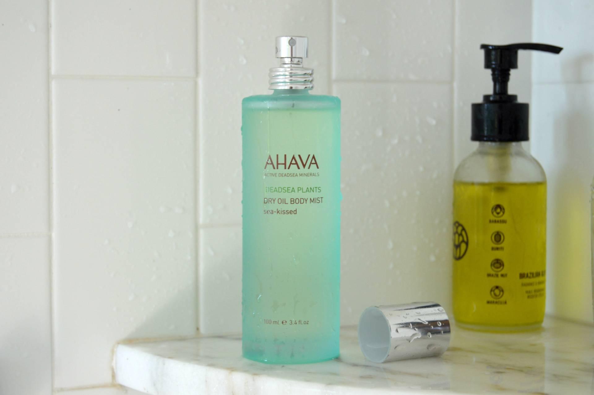 body edit dry oil ahava sea kissed inhautepursuit review