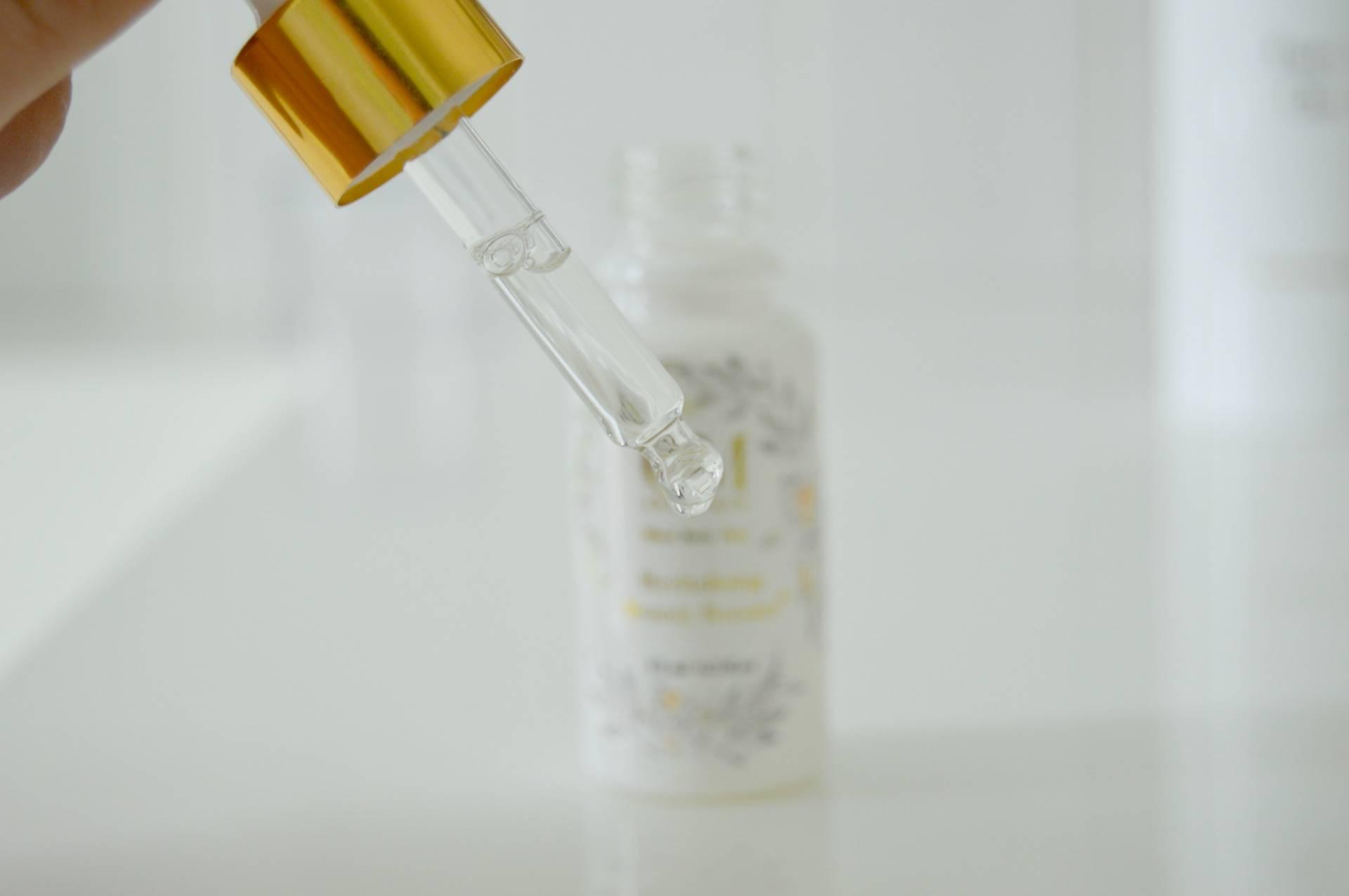 om skincare booster revitalizing serum inhautepursuit review