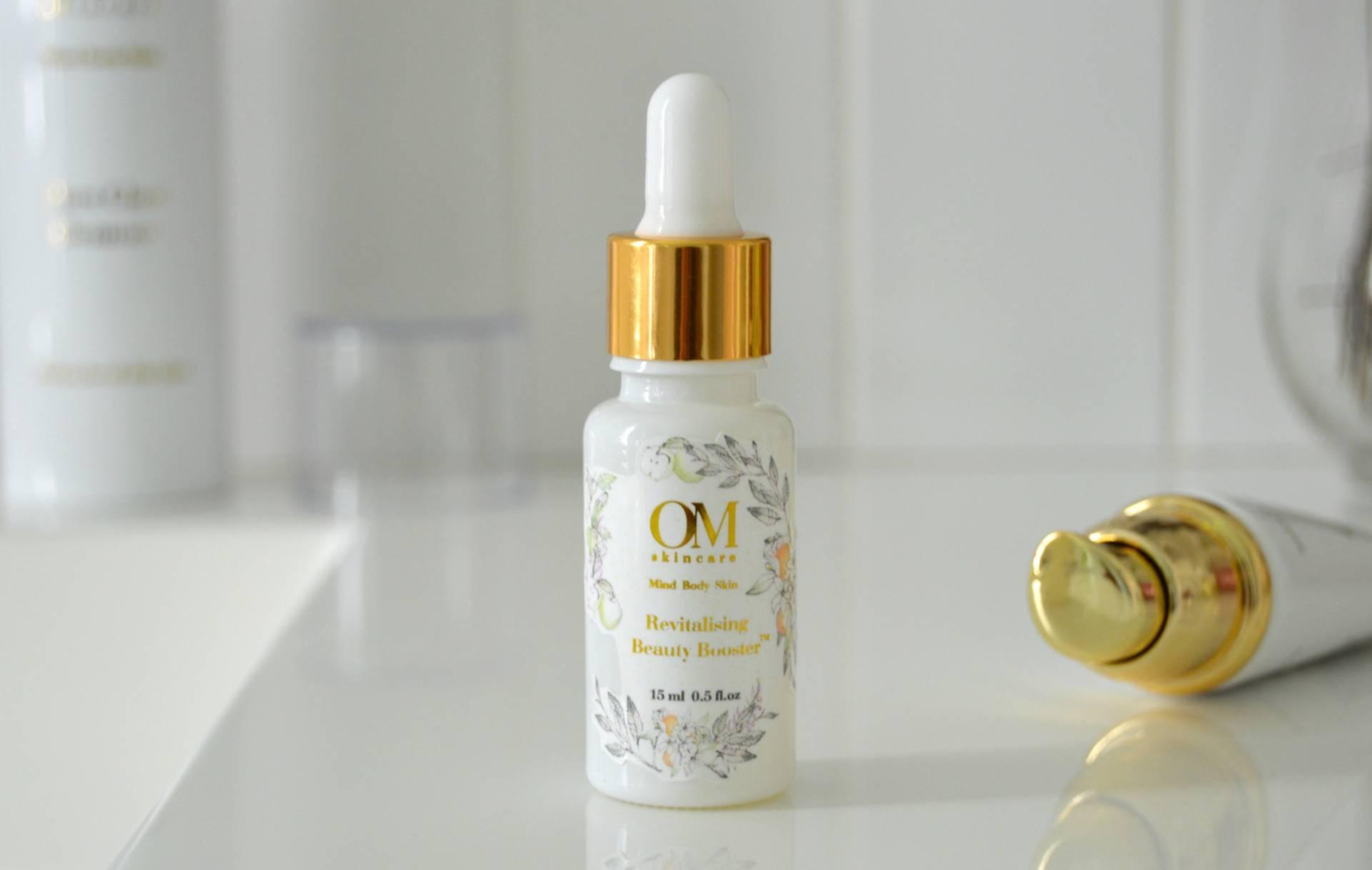 om skincare revitalizing beauty booster review inhautepursuit