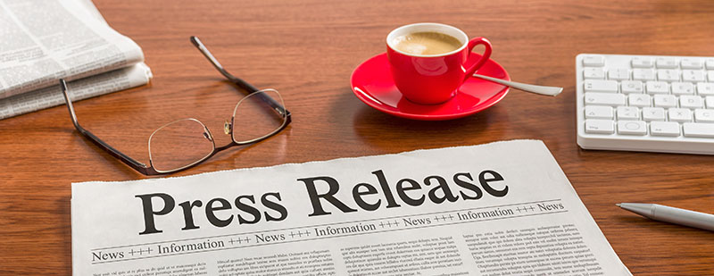 Press Release Header - Electronic