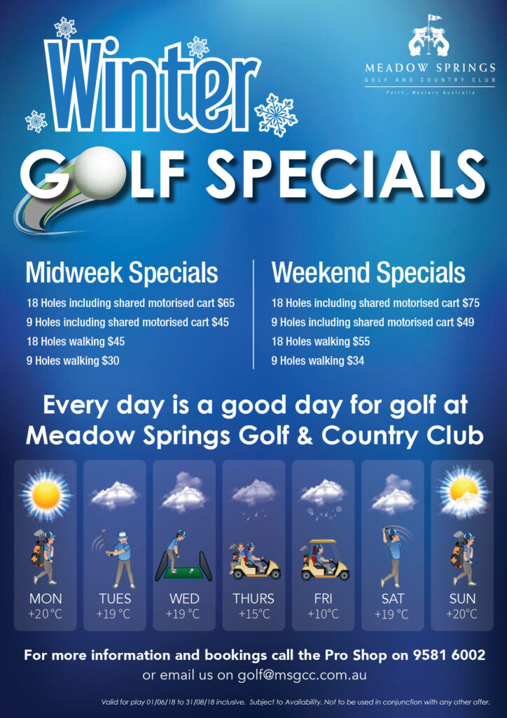 Winter Golf Special A4P