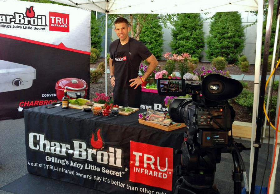 """Char-Broil / The Weather Channel's """"The Outdoor Chef"""" starring, A Bachelor and His Grill"""