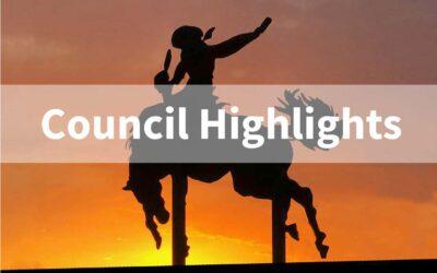 Council Highlights – June 1st Council Meeting