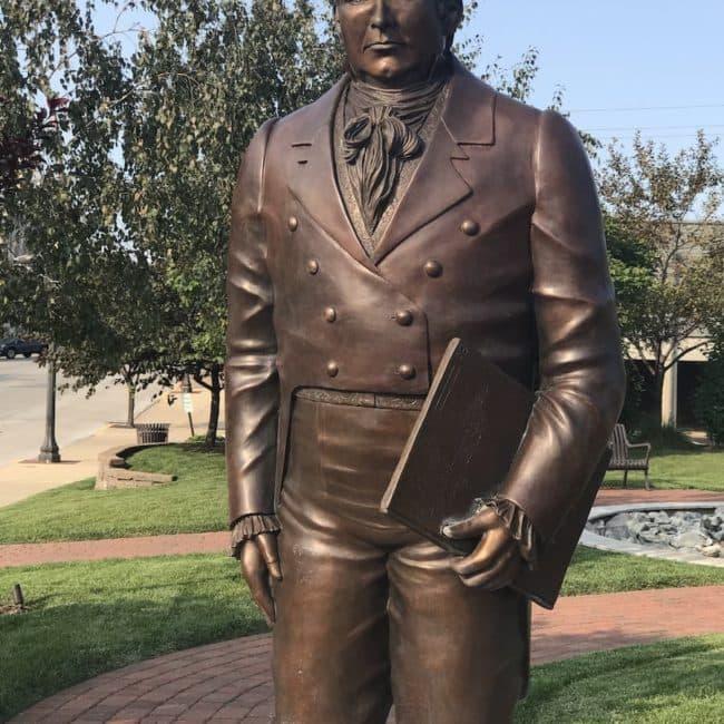 statue in edwardsville IL