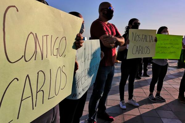 Se exige la liberación del fotoperiodista Carlos Zataráin