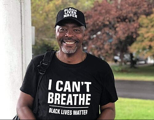 Black Lives Matter Protestor: Leon Goodman
