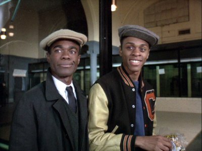 Lawrence and Glynn Turman in Cooley High