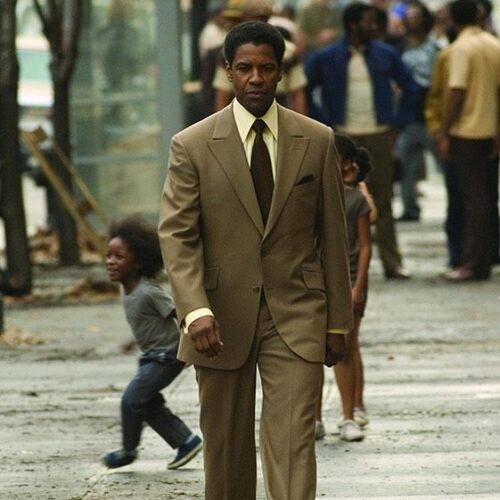 Denzel Washington in the fl American Gangster