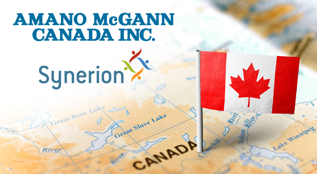 Amano McGann Adds New Dealer Synerion to Their Growing Network