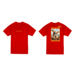Prey or Pray T Shirt Red Front and Back