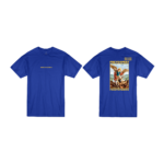 Prey or Pray T Shirt Royal Blue Front and Back