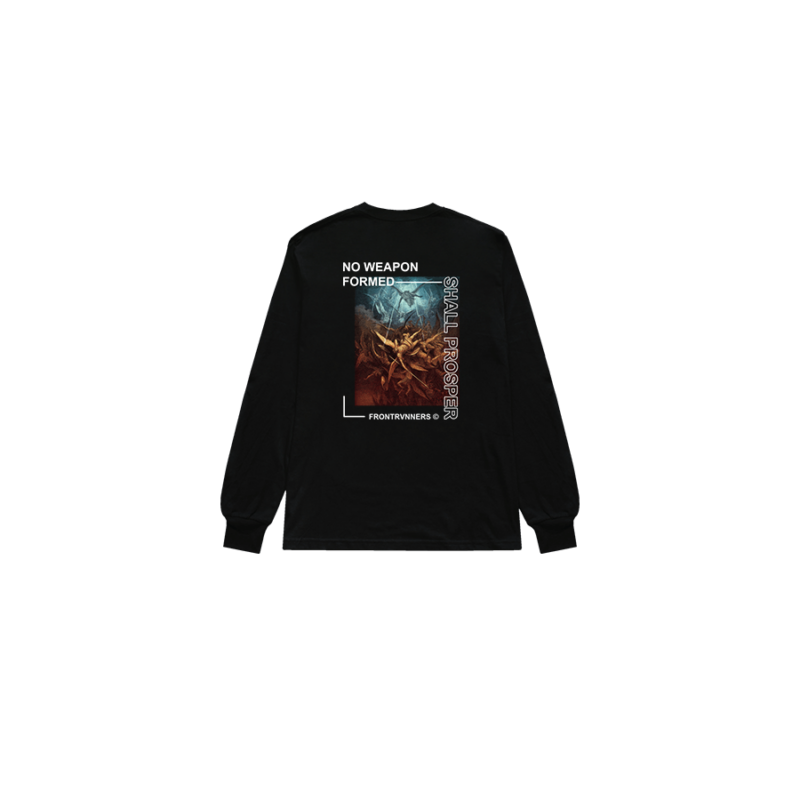 No Weapon Formed Shall Prosper Black Back Long Sleeve